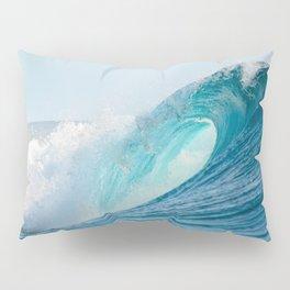 Crashing barrel wave in the Pacific Ocean Pillow Sham