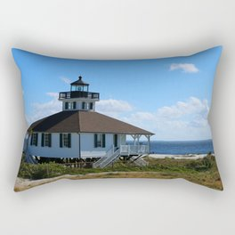 Port Boca Grande Light Rectangular Pillow