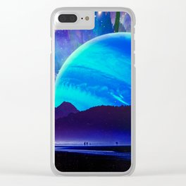 A Sunday Afternoon On The Island Of A Distant Planet Clear iPhone Case