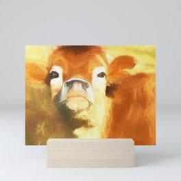 A Moo Attitude Mini Art Print