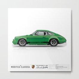 1967 Porsche 912R SIGNAL GREEN Metal Print