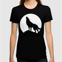Wolf howling! T-shirt
