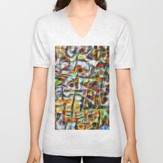 Beautiful abstract bark texture Unisex V-Neck