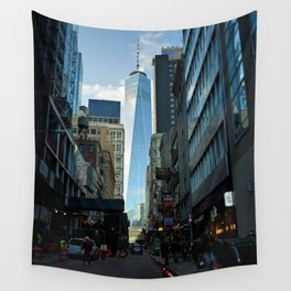 Downtown Giant Wall Tapestry