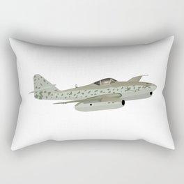 Messerschmitt Me 262 German WW2 Airplane Rectangular Pillow