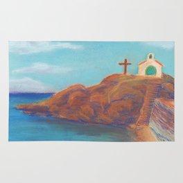 Church by the Sea Rug