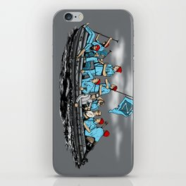 Team Zissou Crossing the Delaware iPhone Skin