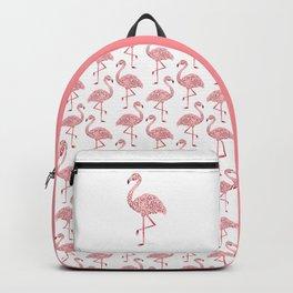 Funky Tribal Flamingo Backpack