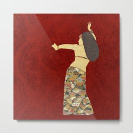 Belly dancer 12 Metal Print