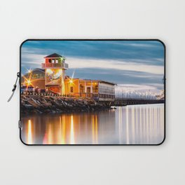 Crab Shack on the James just after sunset. Laptop Sleeve