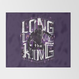 Long live the king Throw Blanket