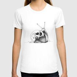 This Skull Is My Home (Snail & Skull) T-shirt