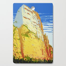 Zion National Park - Vintage Travel Cutting Board