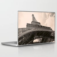eiffel tower Laptop & iPad Skins featuring Eiffel Tower by ib photography