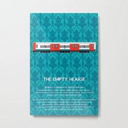 The Empty Hearse Metal Print