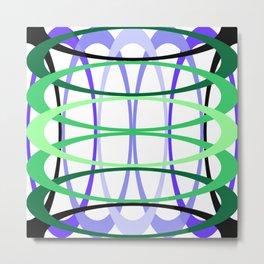 Interwoven Rings by Freddi Jr Metal Print