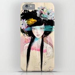 Nenufar Girl iPhone Case