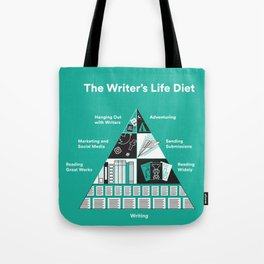 The Writer's Life Diet Tote Bag