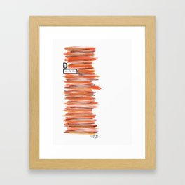 Fires Framed Art Print