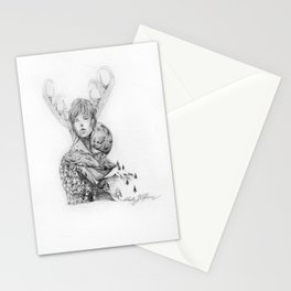 Silence and Obedience Stationery Cards
