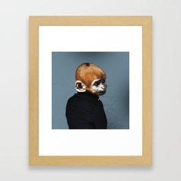 Regresión #004m Framed Art Print