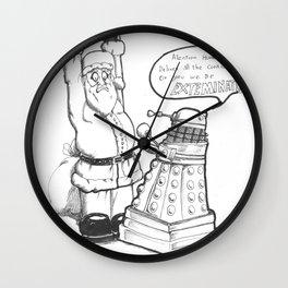 Daleks like cookies  Wall Clock