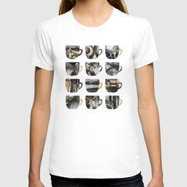 My Favorite Coffee Cups 2 T-shirt