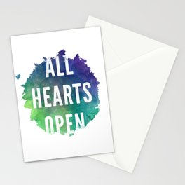 All Hearts Open 1 Stationery Cards