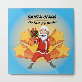 Santa Claus - the first Joy Bender Metal Print