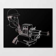 Gasmask Projector                          Canvas Print