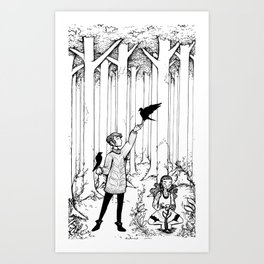 Keepers of the Forest Art Print