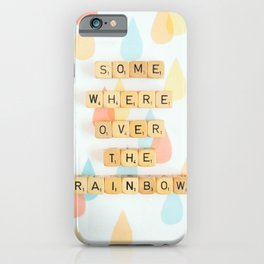 Somewhere Over The Rainbow iPhone Case