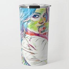 Chloe Bennett (Creative Illustration Art) Travel Mug