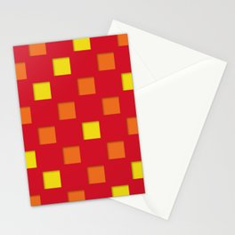 checkered pattern #21 Stationery Cards