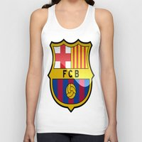 barcelona Tank Tops featuring BARCELONA by Acus