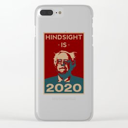 HINDSIGHT IS 2020 Clear iPhone Case