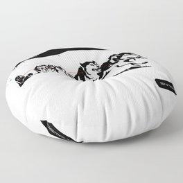 sknowledge // (husky team) Floor Pillow