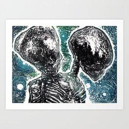 Siamese Dream Art Print