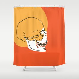 Skull Expand Shower Curtain