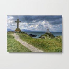 Llanddwyn Island Metal Print