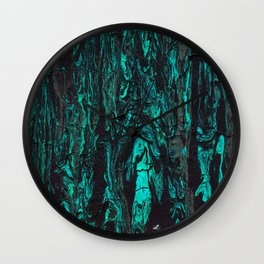 Paint texture ( cracked ) Wall Clock
