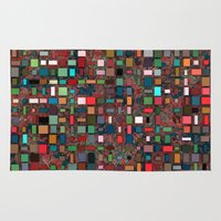 mosaic Area & Throw Rugs featuring Mosaic by Lyle Hatch