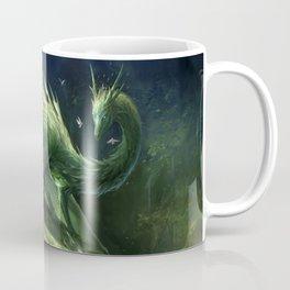 Green Crystal Dragon Coffee Mug