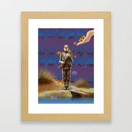 The Loyal Soldier. Framed Art Print