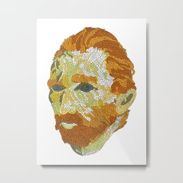 Who is Vincent van Gogh? Metal Print