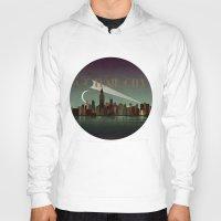 gotham Hoodies featuring Gotham City by WyattDesign
