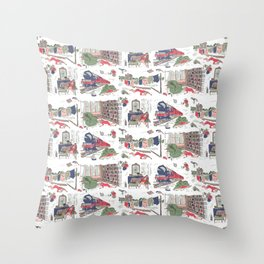 Miss Marple Throw Pillow