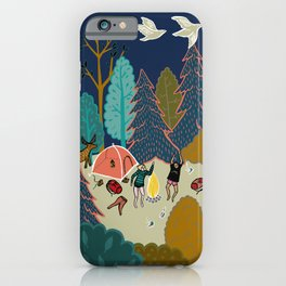 Welcome to Our Place in the Woods iPhone Case