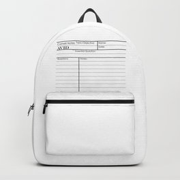 Cornell Notes Backpack