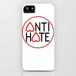 ANTI HATE iPhone Case